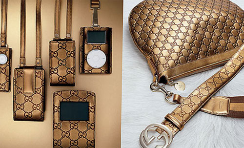 Gucci Style iPod Case