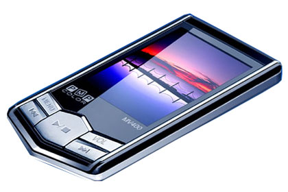 Thin MP3/MP4 Player